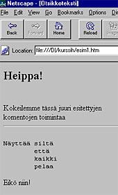 keskitä teksti html